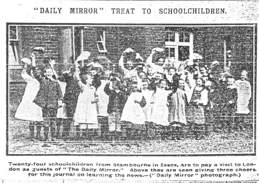 Daily Mirror treat to schoolchildren