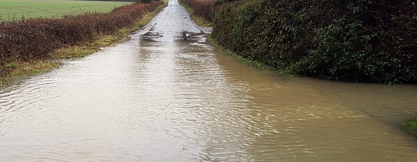 Flooding in Stambourne