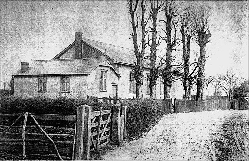 An old Photograph of the Second Chapel