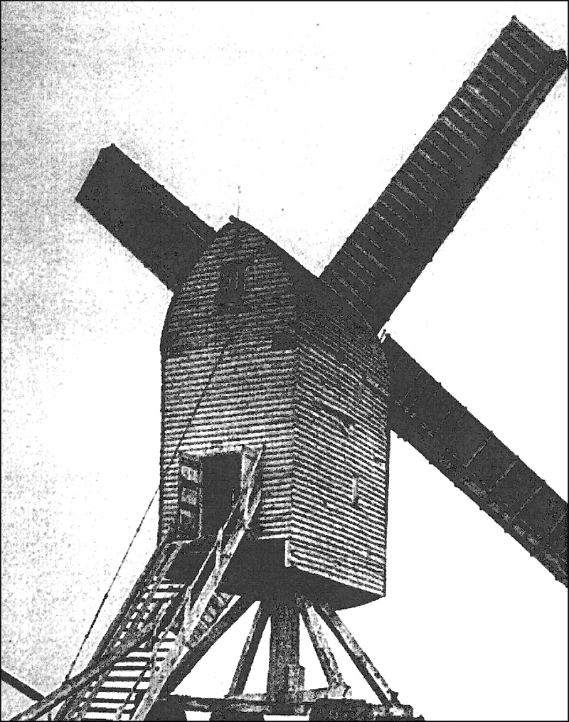 An Old Photograph of the Post Mill