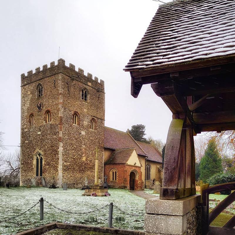 Stambourne Church - Winter 2021