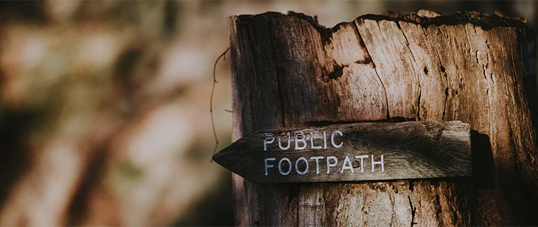 Walking routes and footpaths