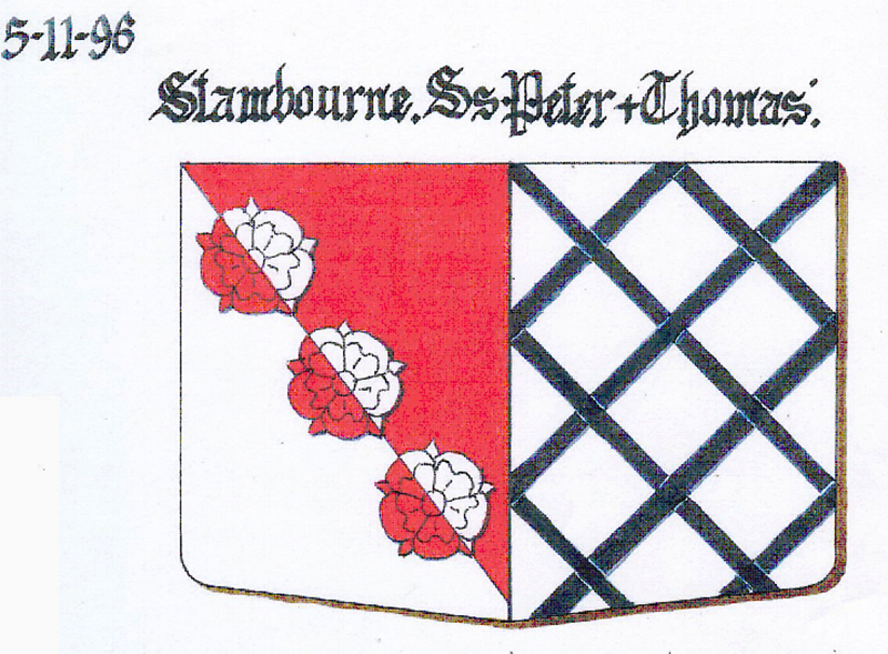 1. Stambourne The Arms of Mackwilliams, Baron and Femme