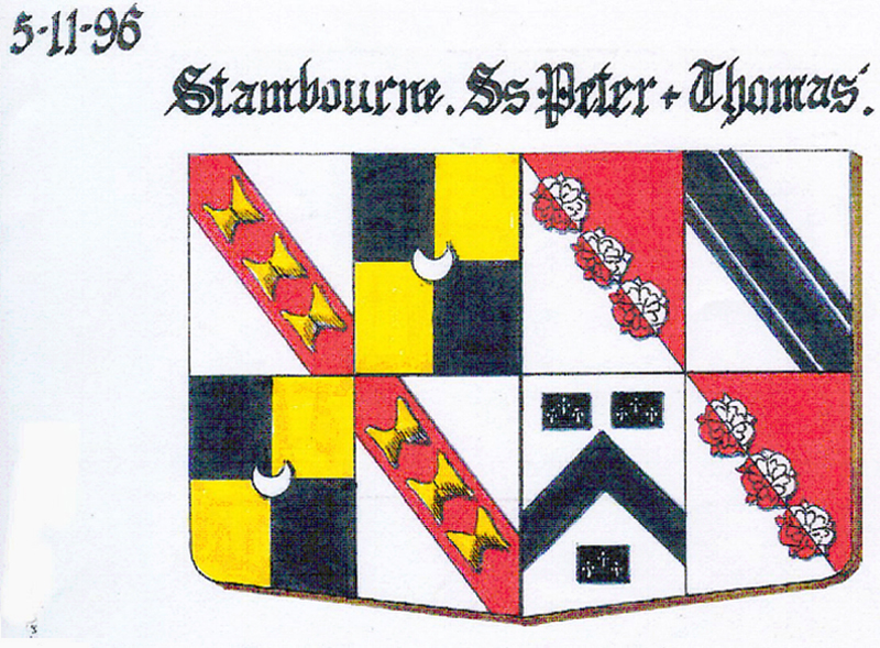 8. Stambourne The Arms of Wingfield/Mackwilliams