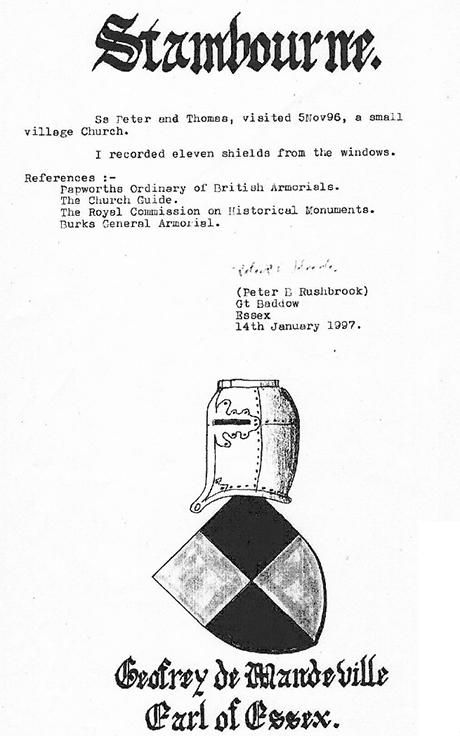 Rushbrook's Armorial Bearings