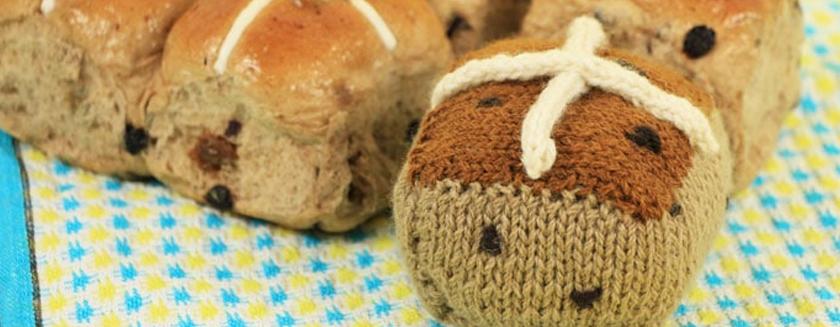 Knit Easter art