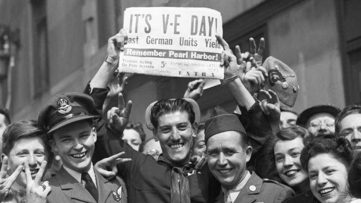 VE-VJ Day celebration