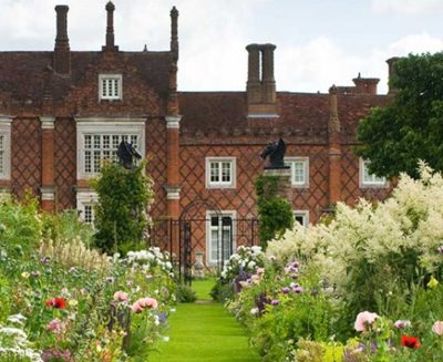 Day out at Helmingham Hall Gardens